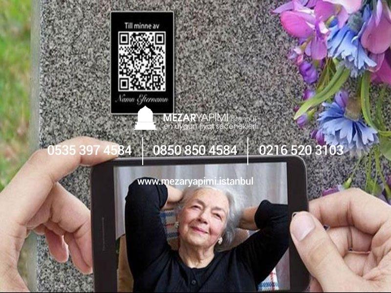 Mezar Taşına Karekod Qr Ile Biyografi Fotoğraf Video Ekleme